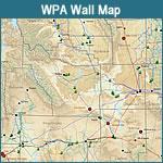 WPA Wall Map