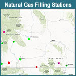 Natural Gas Filling Stations